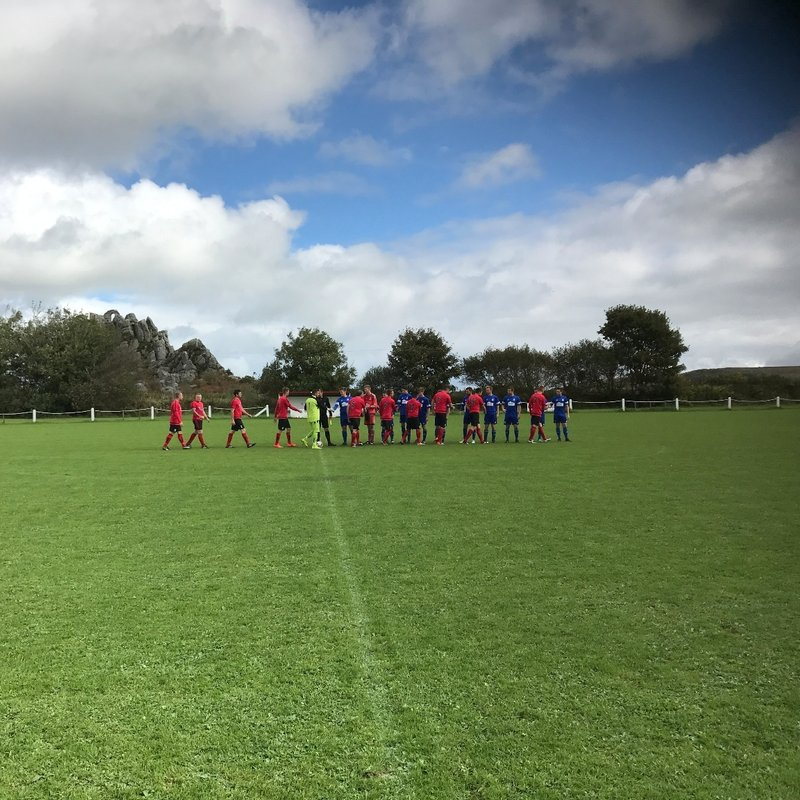 Roche Reserves 1 v 5 St Minver 1sts | Bond Timber Cornwall Junior Cup 1st Round