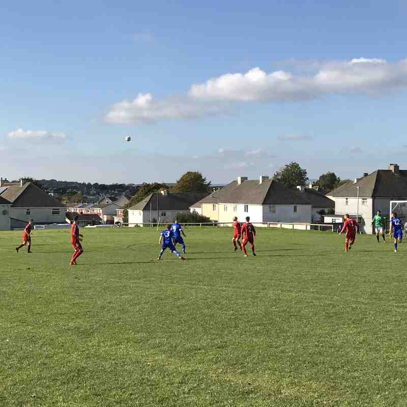 St Minver 1sts v Saltash United - Sat 22 Oct 2016