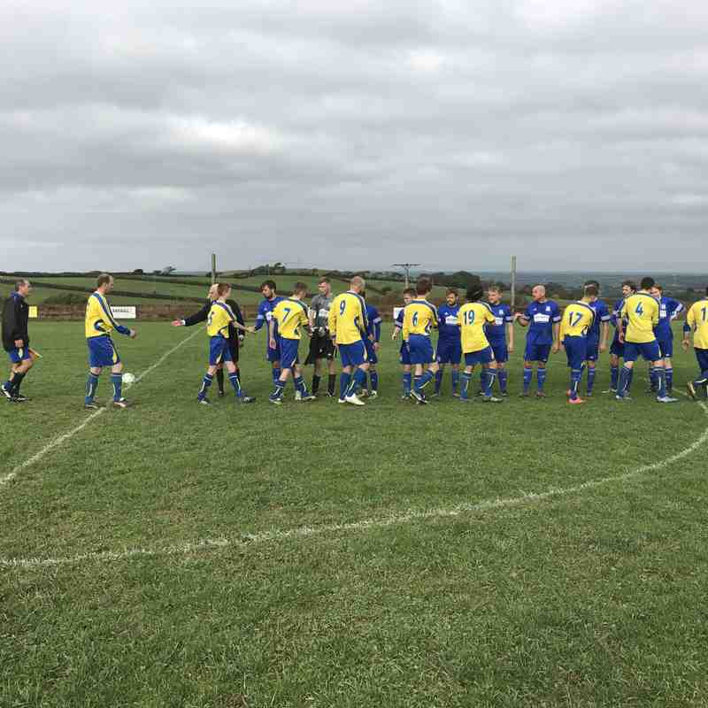 St Minver 1sts v Week St. Mary - Sat 29 Oct 2016