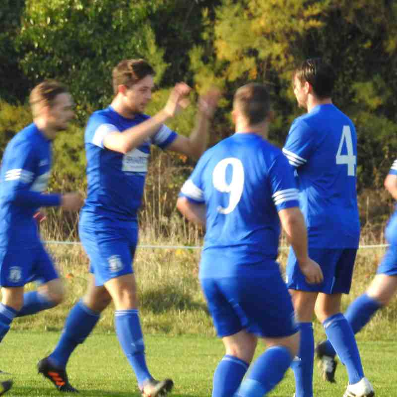 St Minver 1sts v Holywell and Cubert - Sat 26 Nov 2016