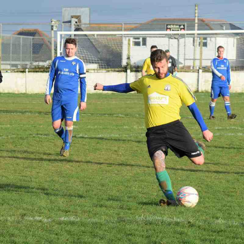 St Minver 1sts v St Newlyn East - Sat 14 Jan 2017