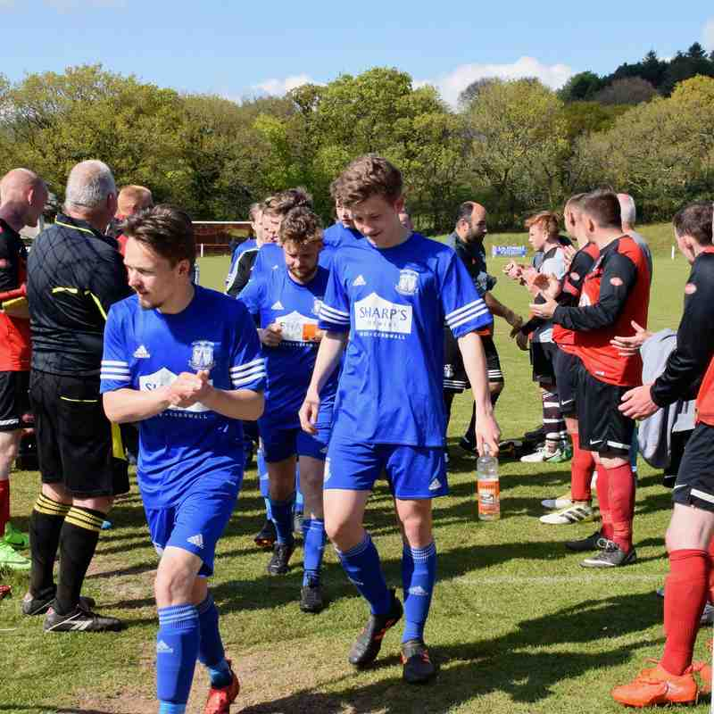 Callington Town v St Minver 1sts - Sat 29 Apr 2017