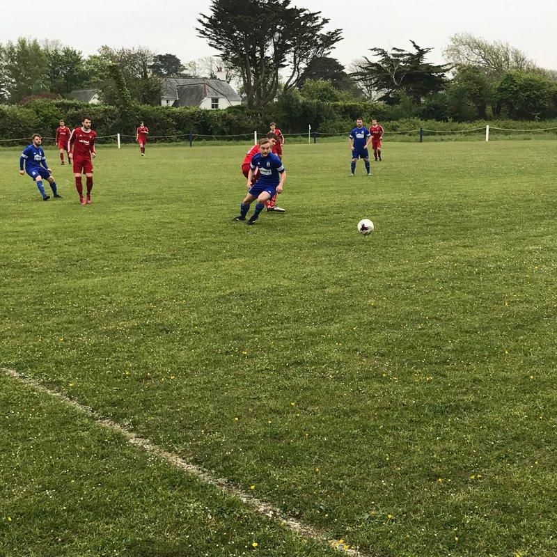 St Minver 1sts 5 v 1 Saltash United 3rds