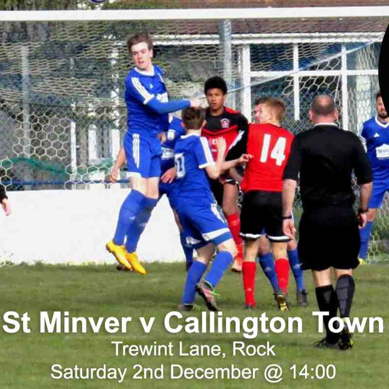 St Minver 1sts v Callington Town - Sat 02 Dec 2017