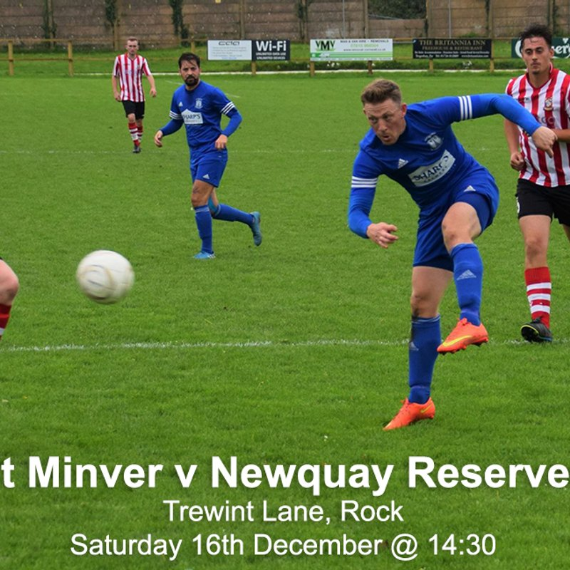St Minver 1sts 7 v 3 Newquay Reserves