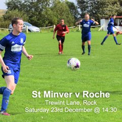 St Minver 1sts v Roche - Sat 23 Dec 2017