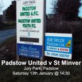 Padstow United 1 v 8 St Minver 1sts