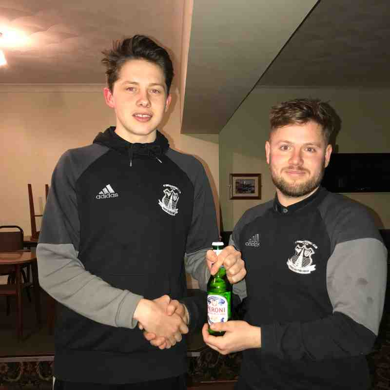 Man of the Match - Mike Kempthorne