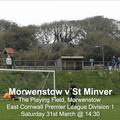 Morwenstow 0 v 6 St Minver 1sts