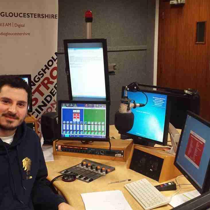 Centurions on BBC Radio Gloucestershire Today