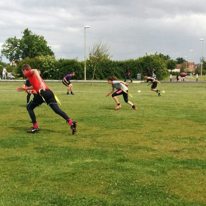Gloucester Centurions Flag Football lose to Northants Titans (White) 32 - 53