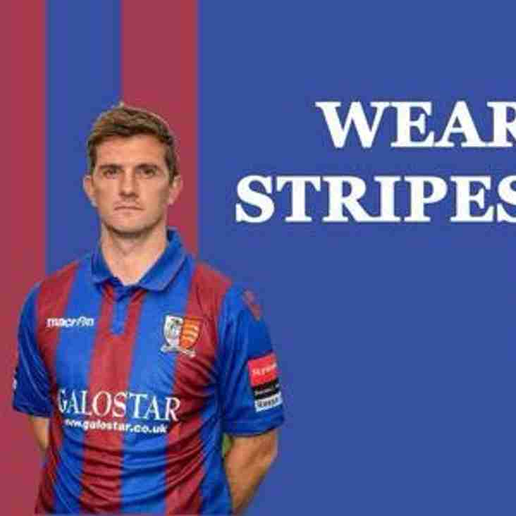 Wear your stripes with pride...