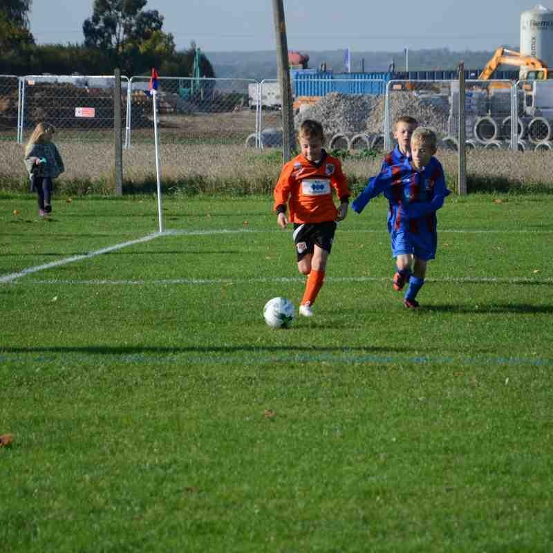 M&T U8 Tigers vs Tillingham U8 Tigers