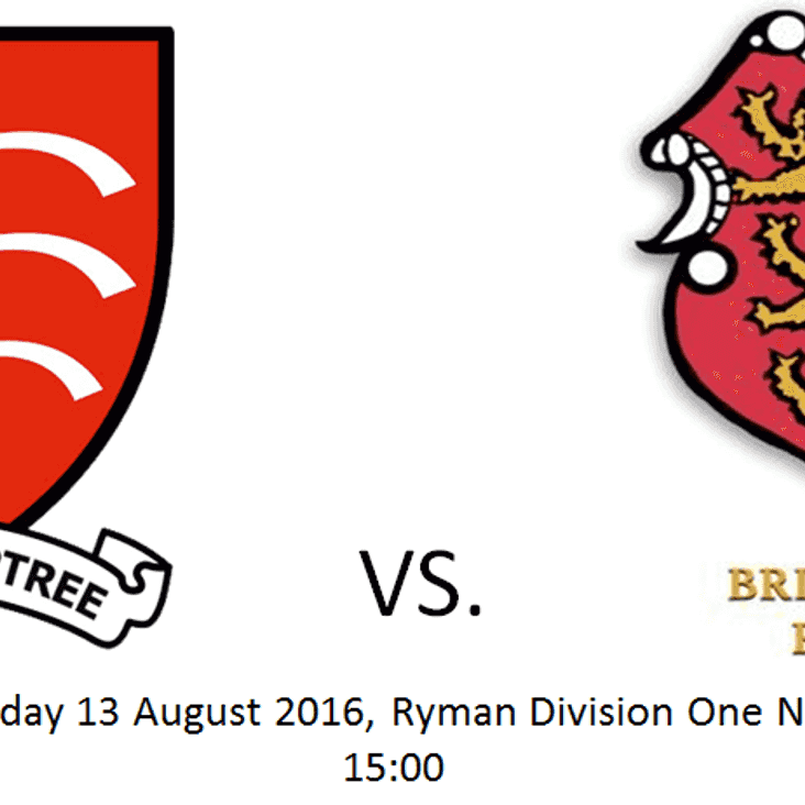 Match Preview vs Brightlingsea Regent