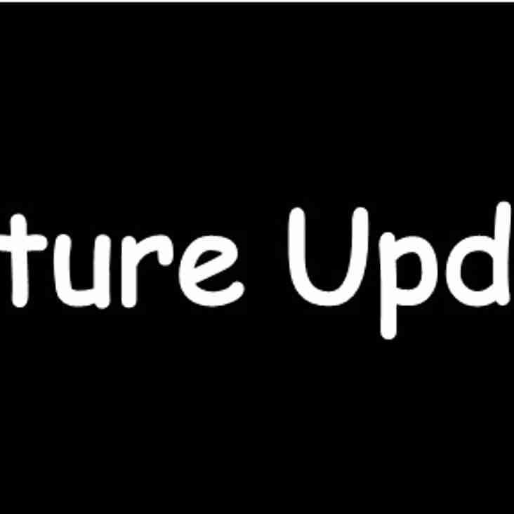 Fixture Update vs Thamesmead Town