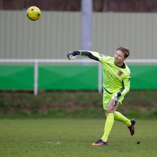 Despite keeper Chris Haigh's heroics the Jammers lose at Canvey