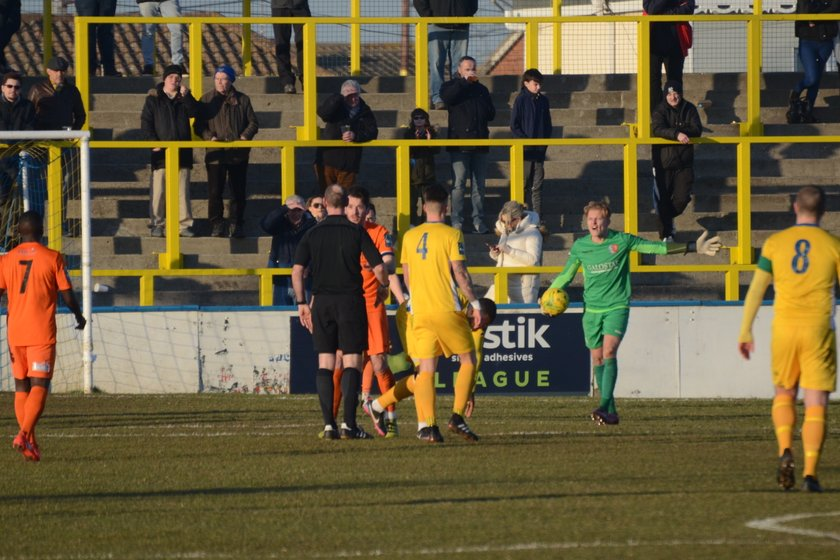 Canvey Island vs The Jammers - 19.02.2018