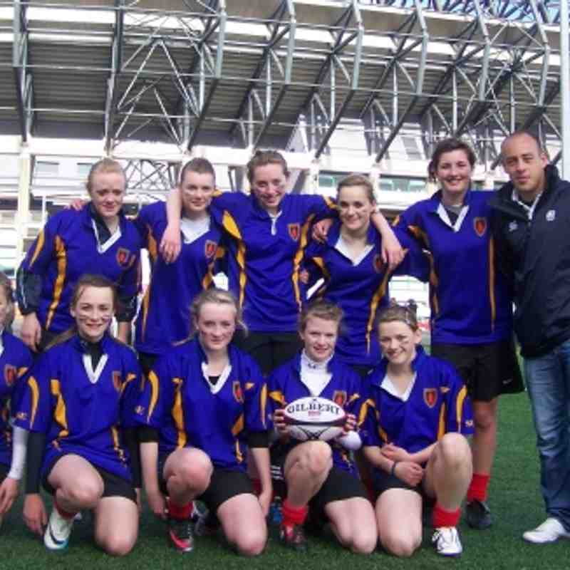 SY Girls at Murrayfield
