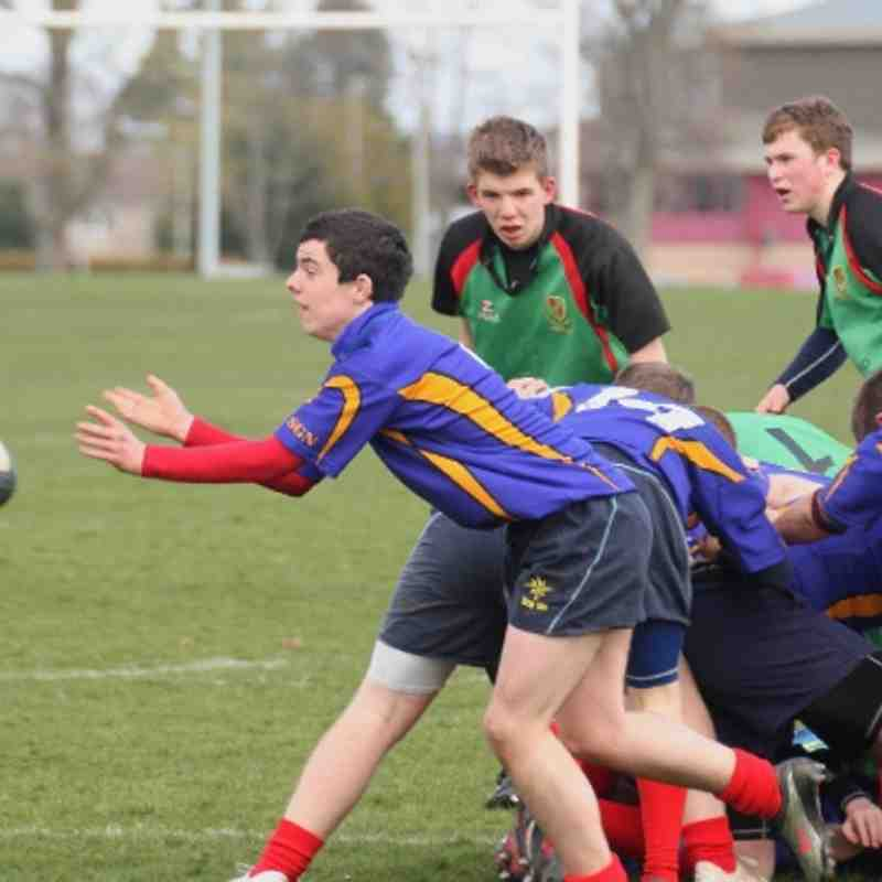 U16's v Highland 31 Mar 2012