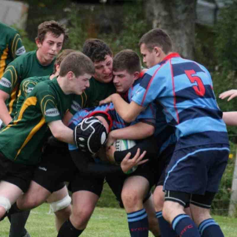 22/09/12 U18's v Caithness