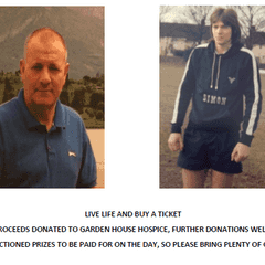 Charity Football Match in memory of Simon Wright