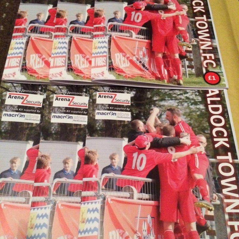 Match programme v Biggleswade now online...