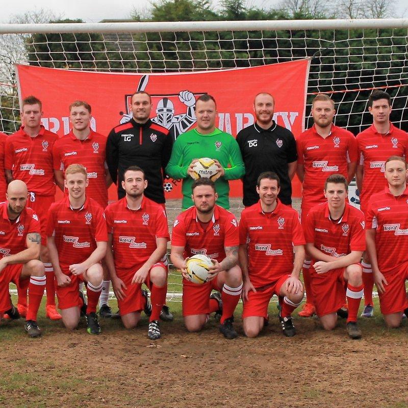 1st Team beat Enfield Borough 4 - 0