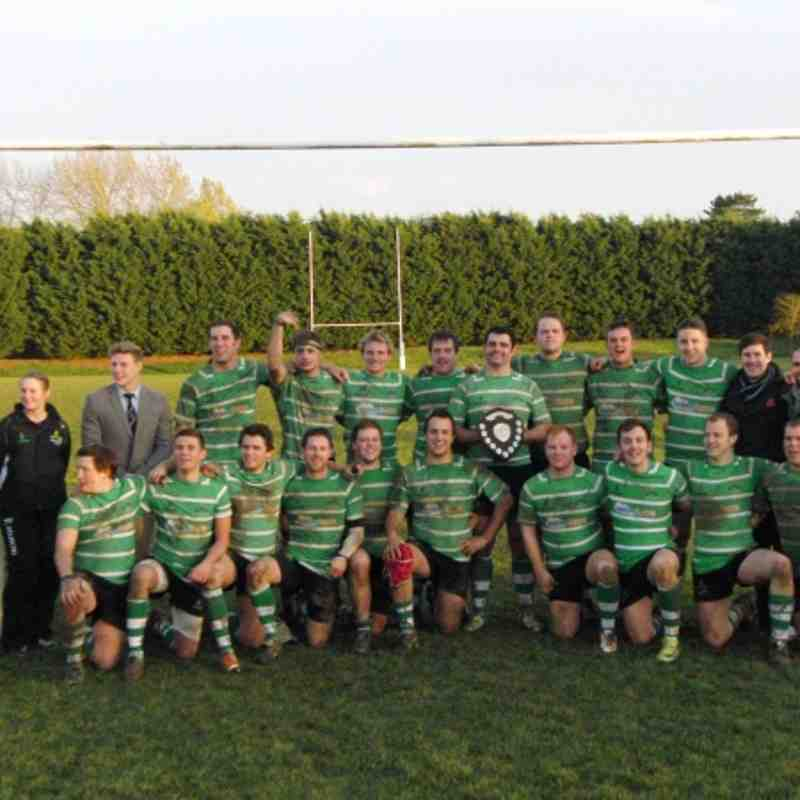 1sts v Aylesbury Bucks Shield Final