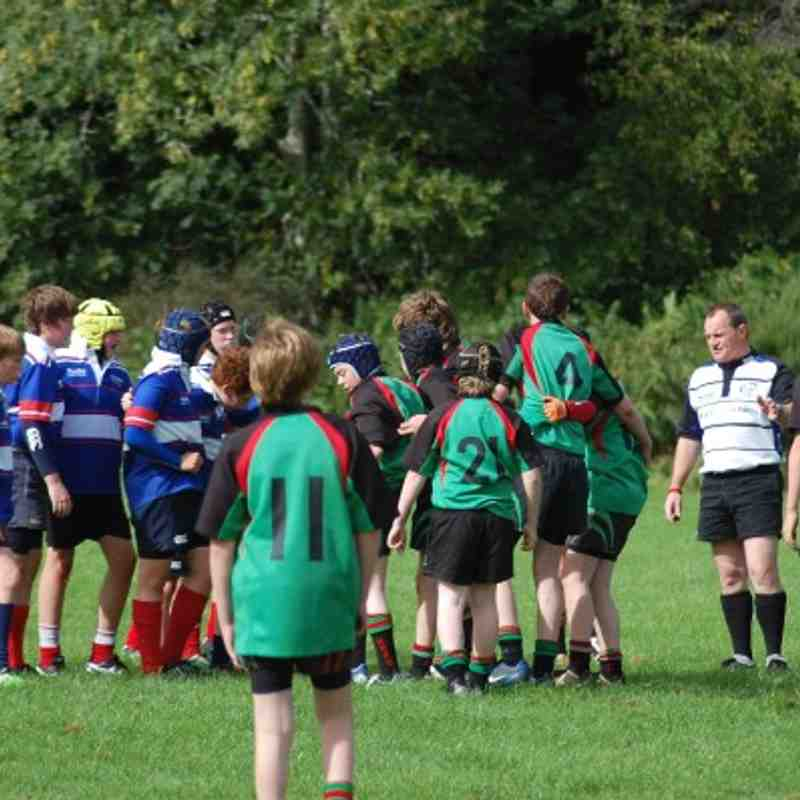 Highland Under 14's v aberdeen Grammar