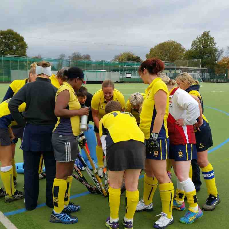 Ladies Vets V Olton & WW Vets