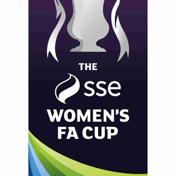 Ladies at home in The SSE Women's FA Cup - 24th September 2017