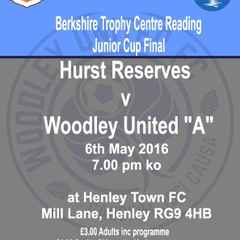 "Woodley Utd ""A"" team in BTC Cup Final"