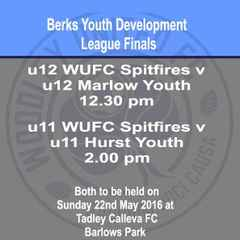 Berks Youth Development League Cup Finals
