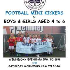 Mini kickers for boys & girls aged 4 - 6 years