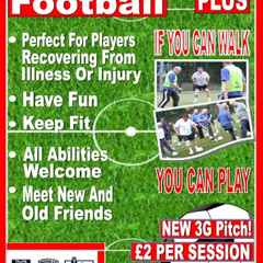 Walking football for aged 50 plus