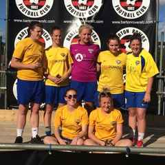 Ladies are runners up in Barton Rovers tournament