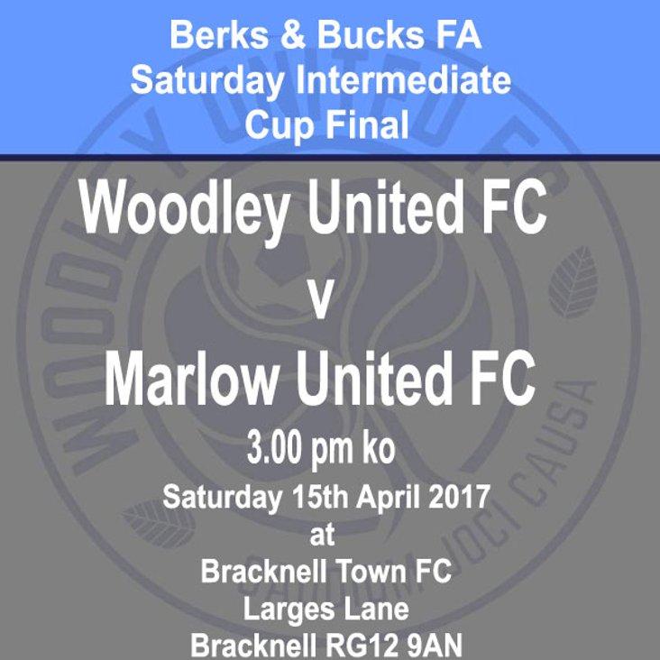 Berks &amp; Bucks Saturday Intermediate Cup final - 15th April 2017<