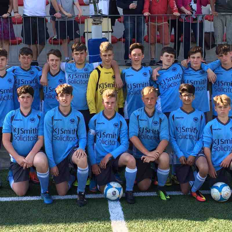 Woodley United FC u15 Hammers - Barcelona Trip April 2017