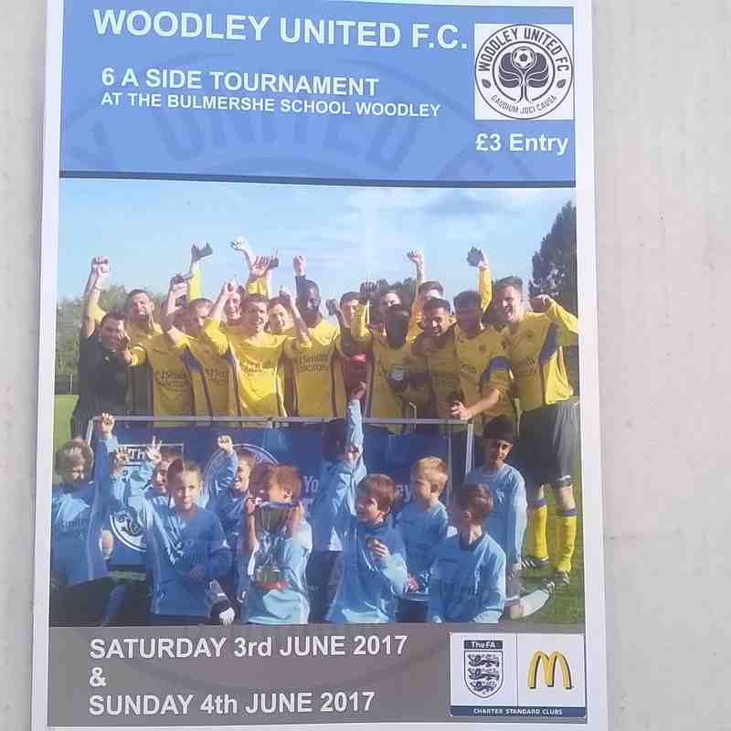 Woodley United FC Tournament 3rd & 4th June 2017