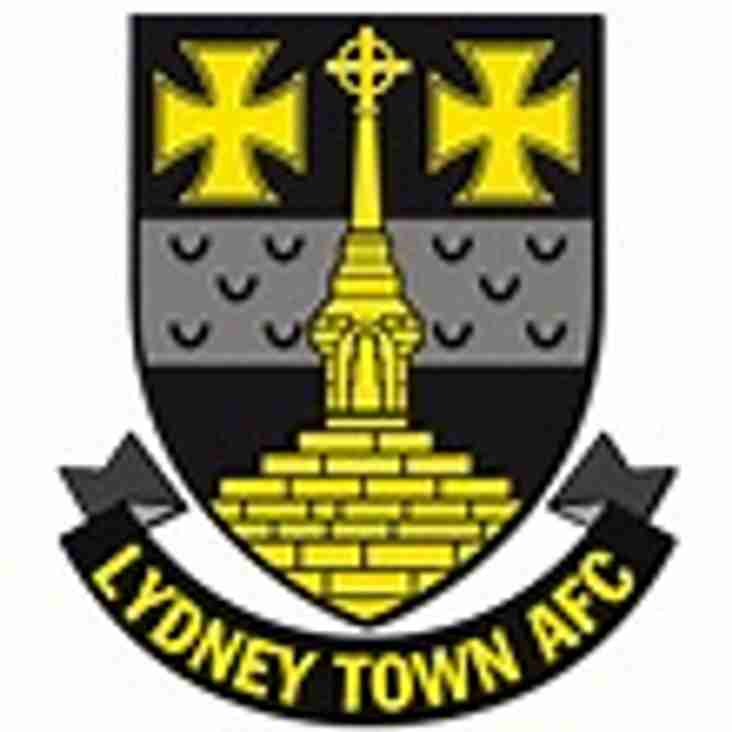 1st team at home to Lydney Town - Saturday 11th November 2017