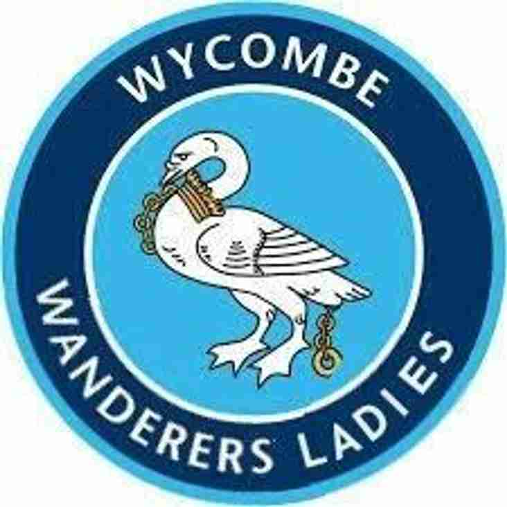 Ladies home to Wycombe Wanderers - Sunday 21st October 2018