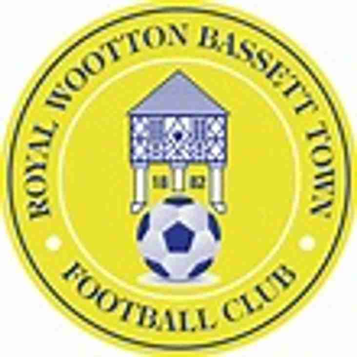 1st team away to Royal Wootton Bassett Town - Saturday 9th December 2017