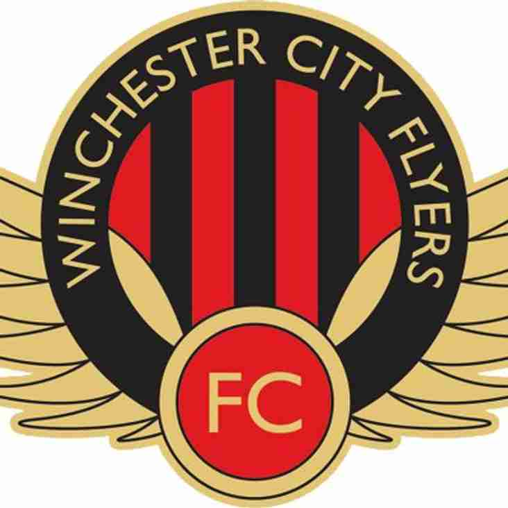 Ladies home to Winchester City Flyers Reserves - Sunday 10th December 2017
