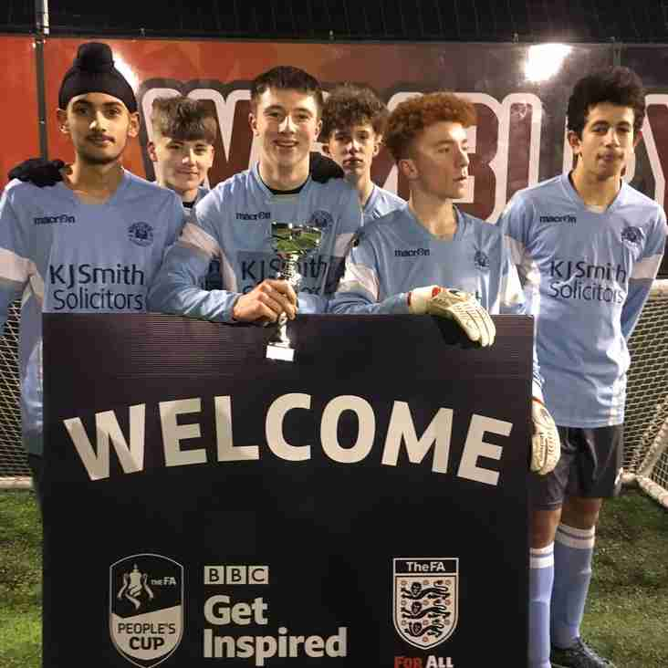 Woodley United win local round of FA People's cup
