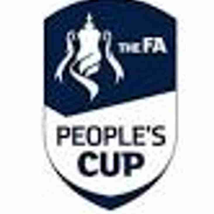 The FA People's Cup - Saturday 24th March 2018