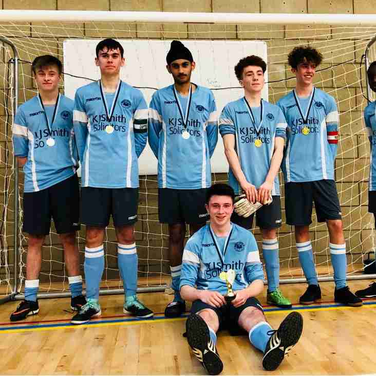 """u16 """"Toffees"""" in regional round of FA Futsal competition - 12th May 2018"""