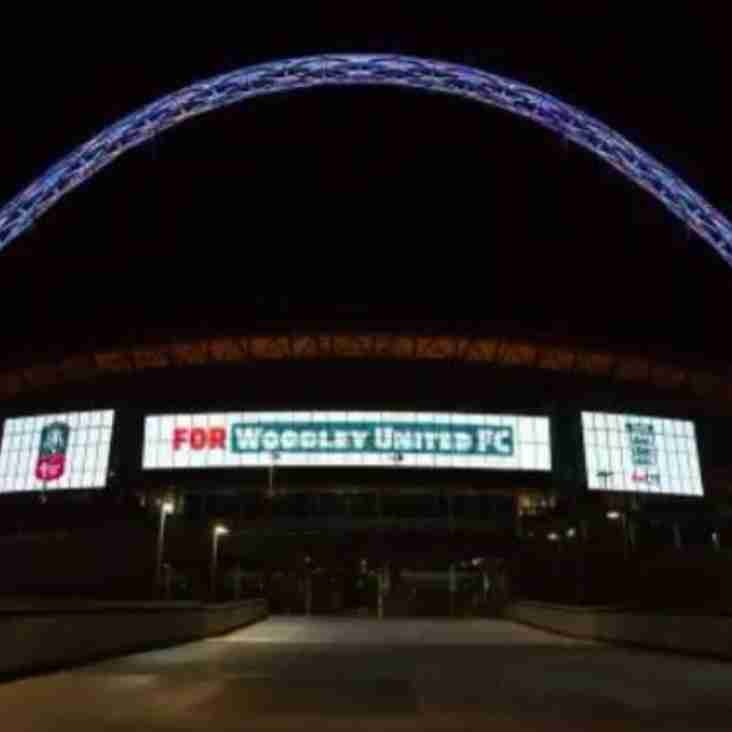 Woodley United at Wembley!