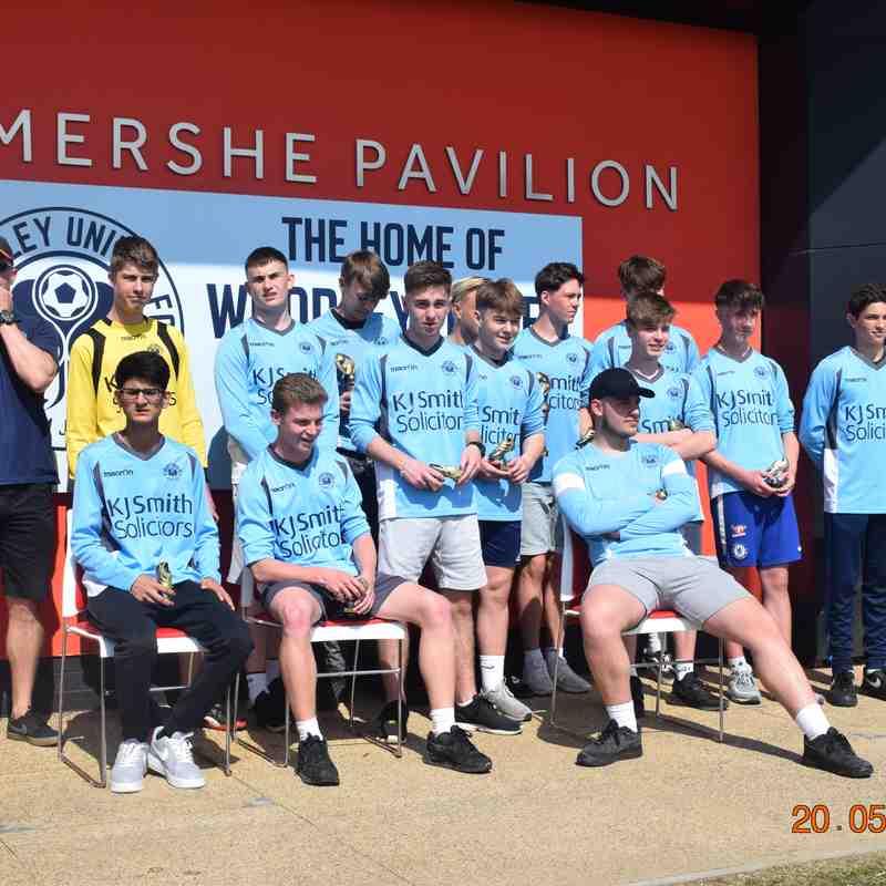 Presentation Day - 20th May 2018 - U16 Hammers