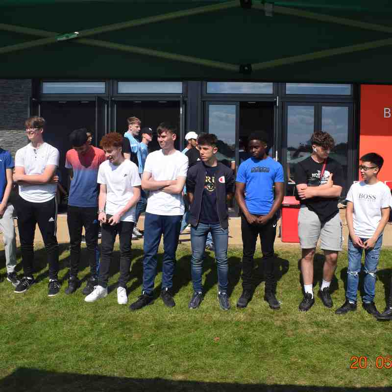 Presentation Day - 20th May 2018 - U16 Tornadoes