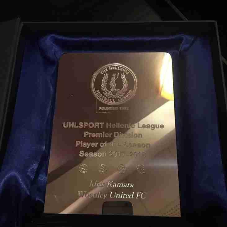 Congratulations to Idris Kamara